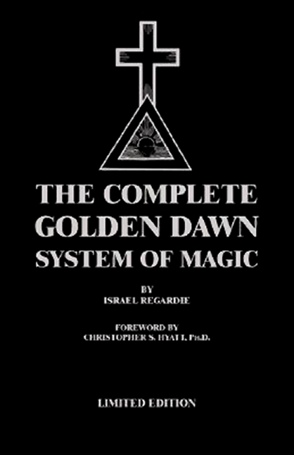 Complete Golden Dawn System of Magic - Leatherbound Lon Milo DuQ
